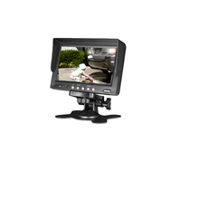 "Parksafe 26-044 Heavy Duty 7"" Monitor & Reverse Camera System - Point to Point Distributions"
