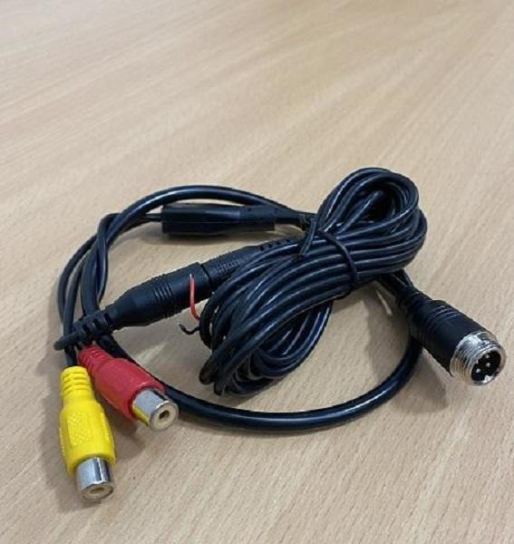 Parksafe 26-044PLM Patch Lead 4Pin Male to RCA connectors - Point to Point Distributions