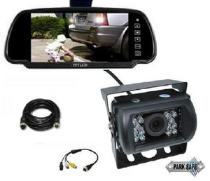 "Parksafe 26-063 7"" Replacement TFT/LCD Monitor + 4Pin Camera Combo - Point to Point Distributions"