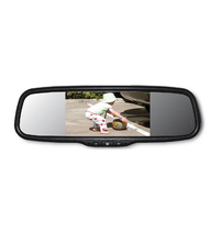 "Parksafe 26-071 5"" Replacement TFT/LCD Mirror Monitor - Point to Point Distributions"