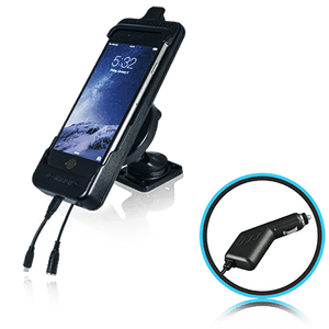SmoothTalker Cradle BTHAL62MFCA - Apple iPhone 8 | 7 | 6s - Dashmount - Cig Lighter Charging