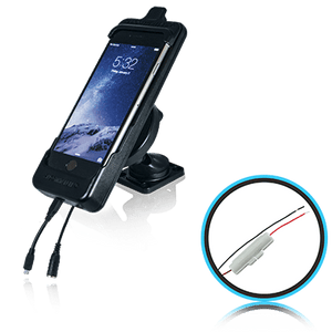 SmoothTalker Cradle BTHAL62MFIA - Apple iPhone SE (2nd Gen) | 8 | 7 | 6s - Dashmount - Hardwired - Point to Point Distributions
