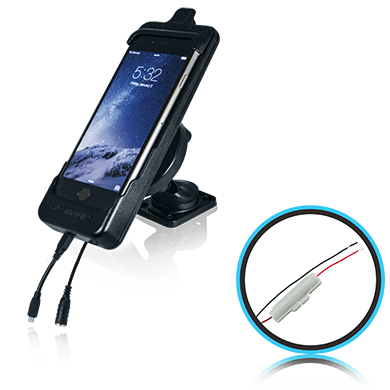 SmoothTalker Cradle BTHAL62MFIA - Apple iPhone 8 | 7 | 6s - Dashmount - Hardwired