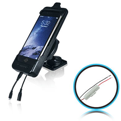 SmoothTalker Cradle BTHAL72MFIA - Apple iPhone 8Plus | 7Plus Dashmount-Hardwired - Point to Point Distributions