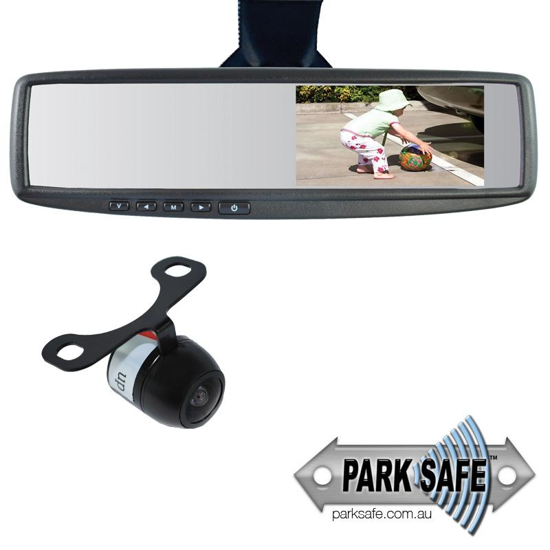 Parksafe CD-CM057-V2 4.3″ Replacement Mirror Monitor & Camera Combo - Point to Point Distributions