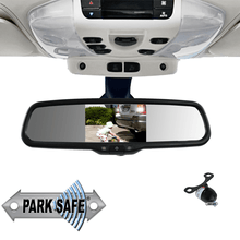 Parksafe CD-CM075 5″ Replacement Mirror Monitor & Mini Butterfly Camera Combo - Point to Point Distributions