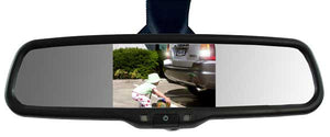 Parksafe CD-CM070 4.3″ Replacement Mirror Monitor & Mini Stalk Camera Combo