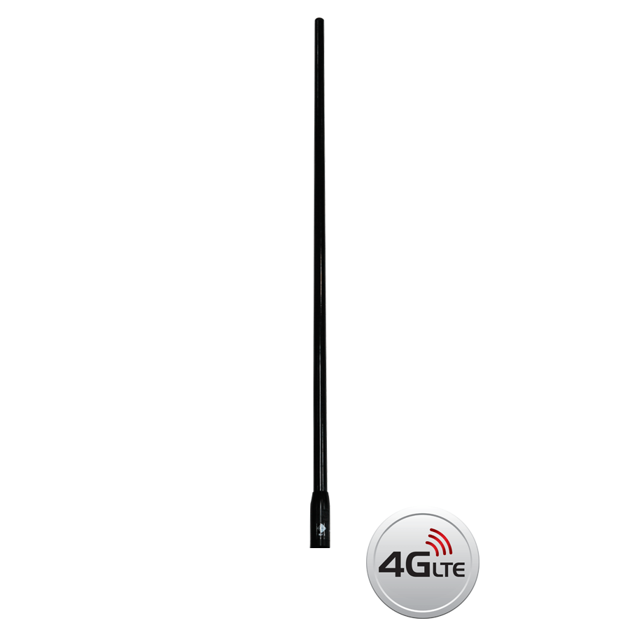 RFI CDQ-7199-B-WHIP Q-Fit Replacement Whip 3G+4G+4GX Antenna Black