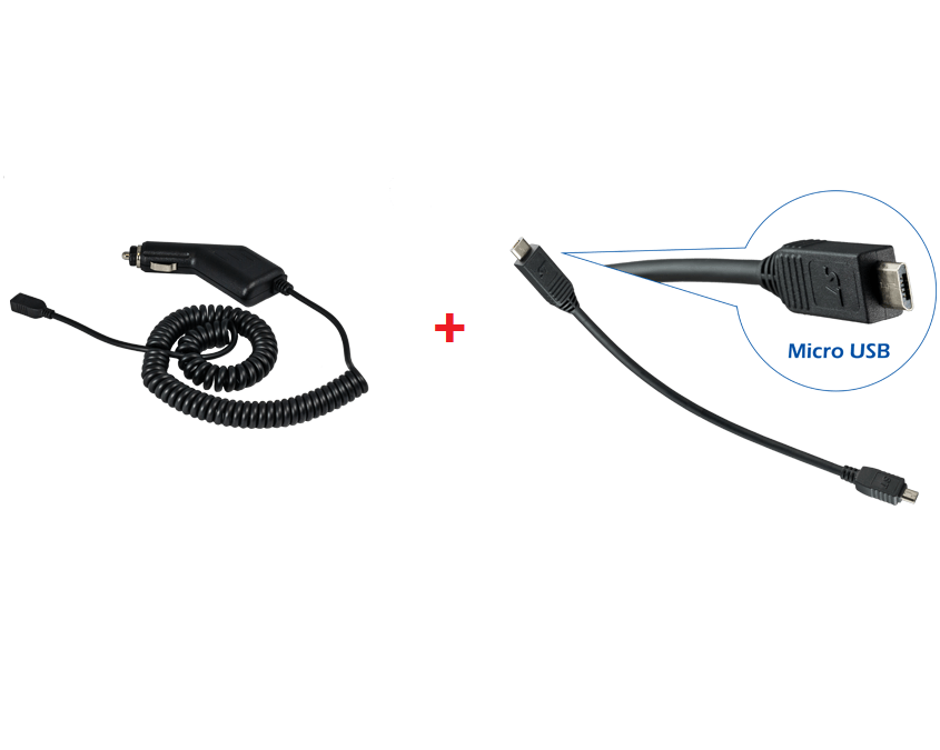 Smoothtalker CIG-MICROUSB Cigarette Lighter Charging Cable with Micro USB Charging Cable - Point to Point Distributions