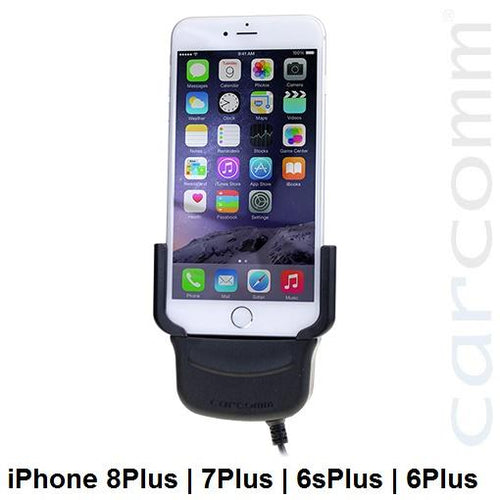 Carcomm CMIC-109 Smartphone Cradle - Apple iPhone 8Plus | 7Plus | 6sPlus | 6Plus - Point to Point Distributions