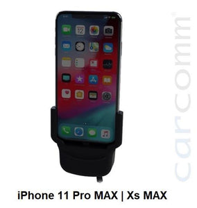 Carcomm CMIC-111 Smartphone Cradle - Apple iPhone Pro MAX | iPhone Xs Max - Point to Point Distributions