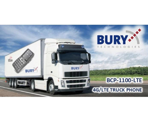 Bury 4G Truck Phone - Bury CP1100LTE 4G/LTE - Point to Point Distributions