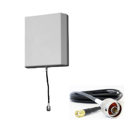 RFI CPL6927-10M-SMA LTE 8dBi Directional Panel Antenna 698-2700MHz 10m CABLE - Point to Point Distributions