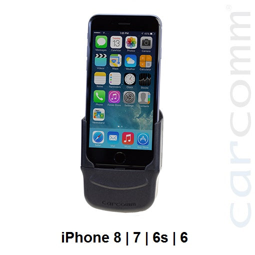 Carcomm CMIC-108 Smartphone Cradle - Apple iPhone SE (2nd Gen) | 8 | 7 | 6S | 6 - Point to Point Distributions