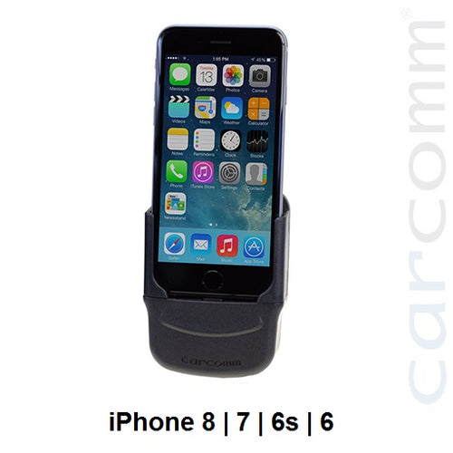 Carcomm CMIC-108 Smartphone Cradle - Apple iPhone 8 | 7 | 6S | 6 - Point to Point Distributions