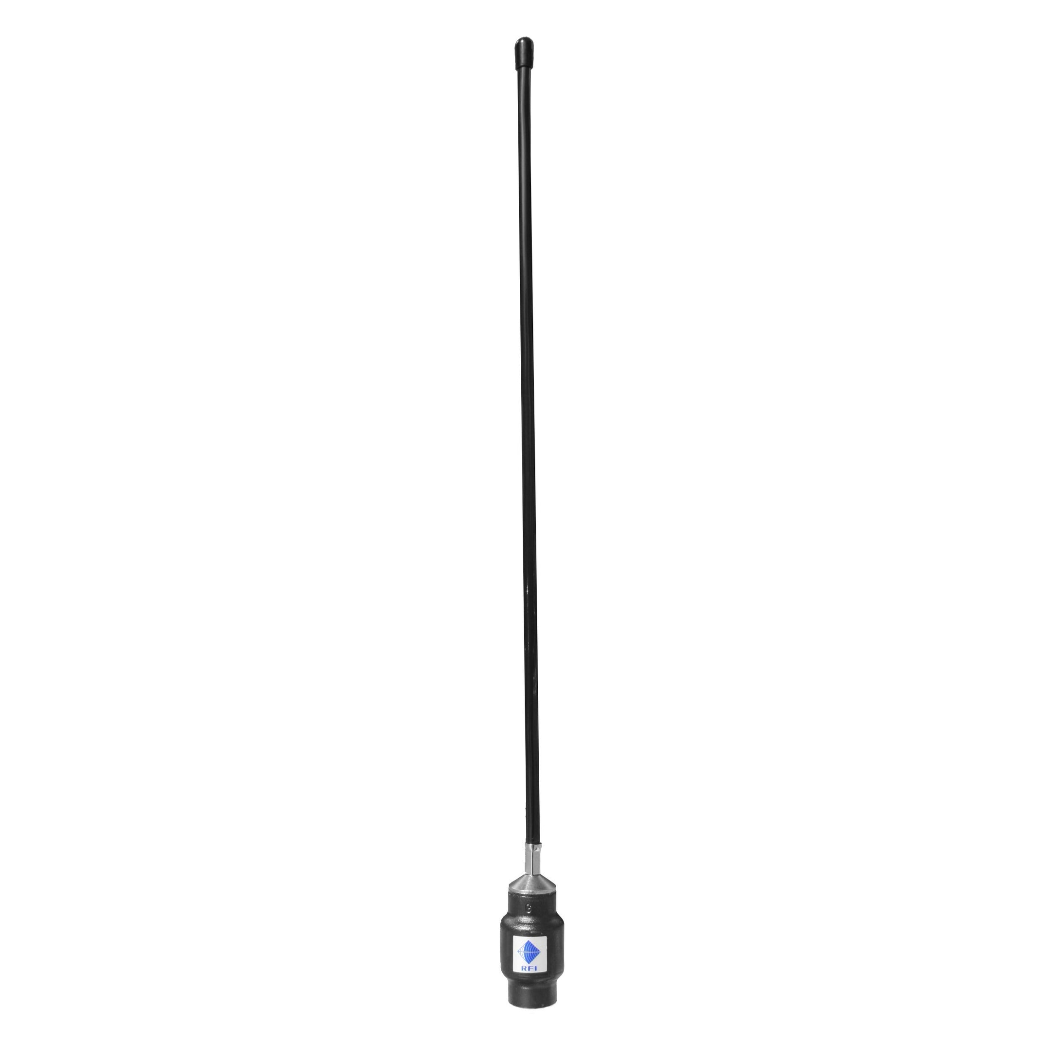 RFI CD51-65-70 UHF Ground Independent Mopole 380 - 440 MHz - Threaded Stud - Point to Point Distributions