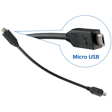Smoothtalker LJUSB1 Micro-USB charging Cable for Smoothtalker Universal Cradle - Point to Point Distributions