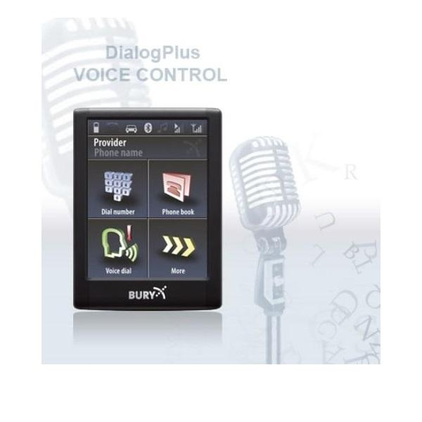 Bury CC9068 Bluetooth Handsfree Carkit with voice control, touch Screen and external speaker - Point to Point Distributions