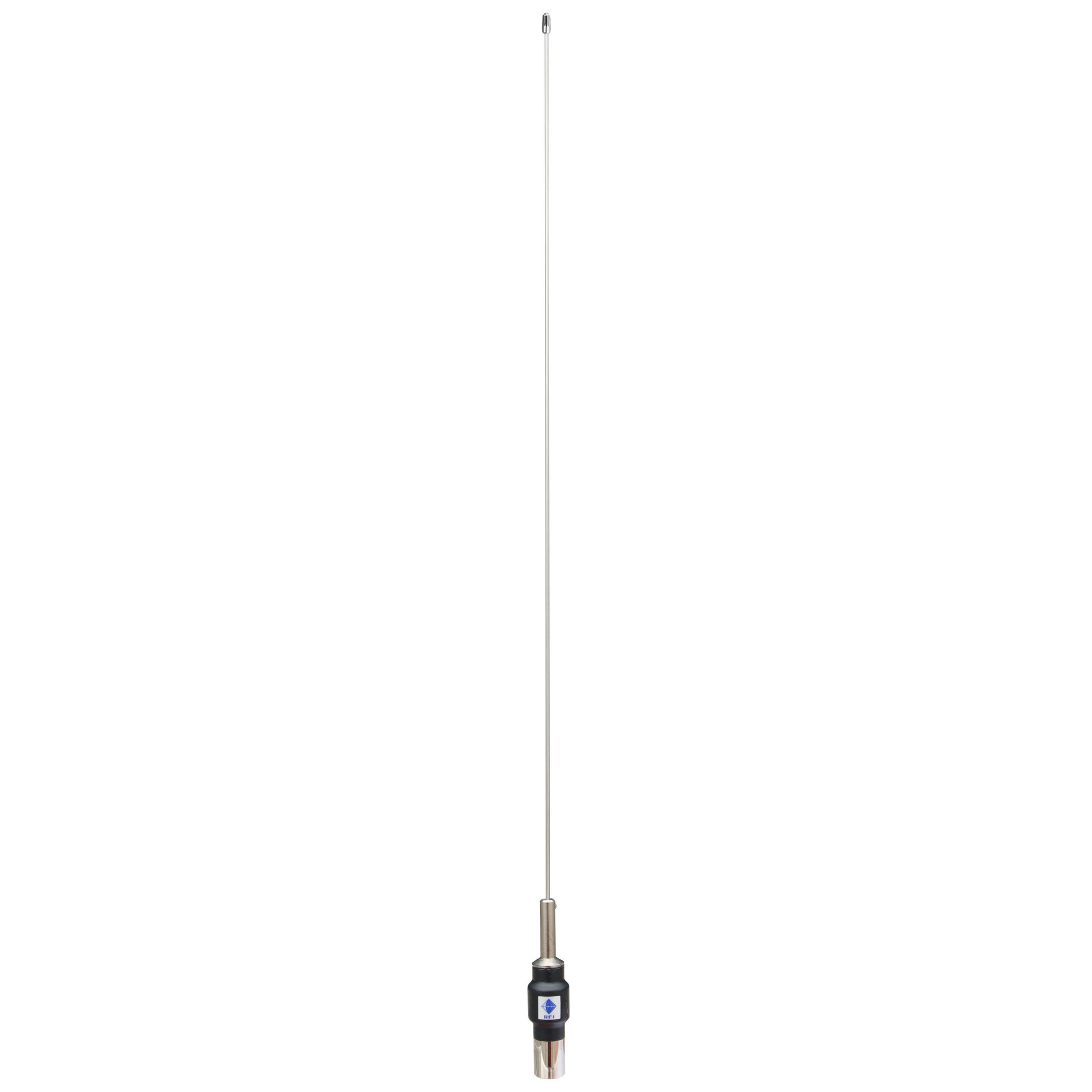 RFI CD28-41-70 VHF Ground Independent Mopole 148 - 175 MHZ - Threaded Stud - No cable - Point to Point Distributions