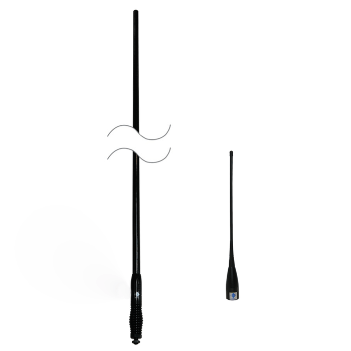 RFI CDQ5000 + CDQ34 Q-Fit City/Country UHF CB Antenna Pack 477 MHz - Point to Point Distributions