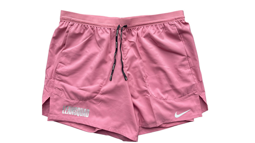 LEANSQUAD X Nike Flex Stride Men's 5 Inch Short STRAWBERRY