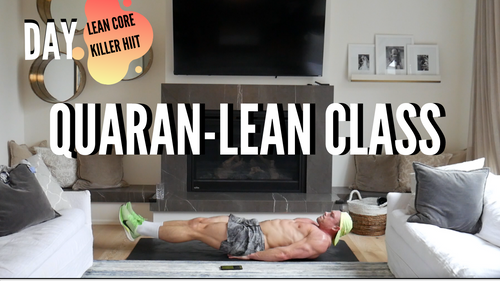 Day 7: Lean Core Killer Workout (Sunday, April 12th)