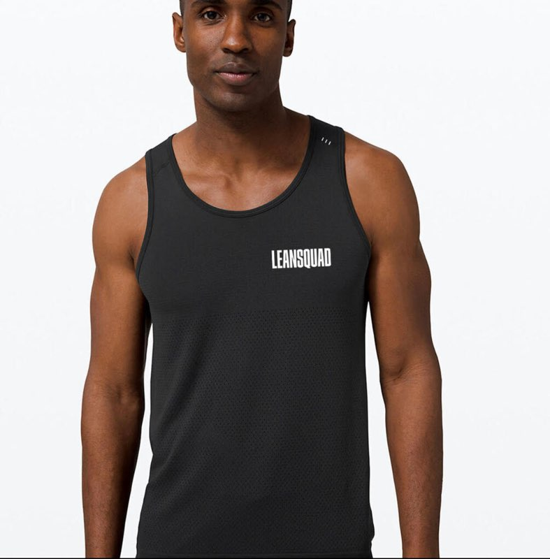 lululemon x LEANSQUAD Mens Metal Vent Breathe Tank