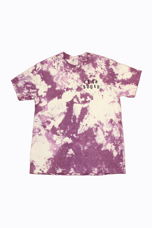Purple Grape LEANSQUAD Tie Dye T-Shirt
