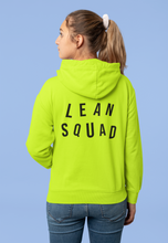 Load image into Gallery viewer, LEANSQUAD HOODIE - SAFETY GREEN