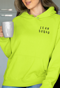 LEANSQUAD HOODIE - SAFETY GREEN