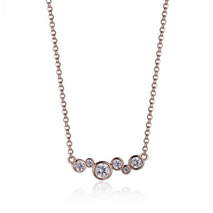 Elle Necklace: Bubble Collection