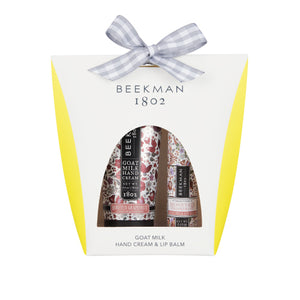Beekman  Honeyed Grapefruit - Hand Cream & Lip Balm Set