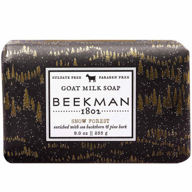 Beekman Snow Forest- Goats Milk Soap