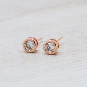 Glee - Radiant Studs, Rose Gold