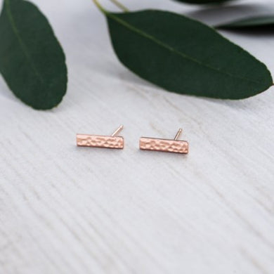 Glee - Clever Studs, Rose Gold