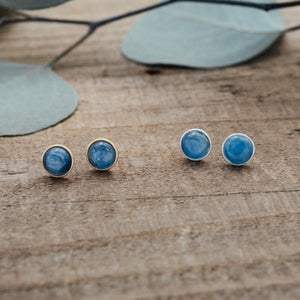 Glee - Anytime Studs, Gold/Kyanite