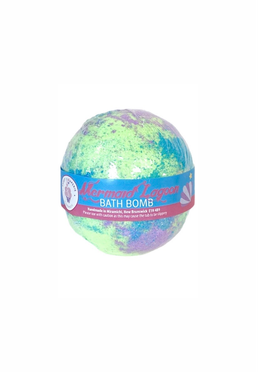 Sweet Soaperie Mermaid Lagoon BATH BOMB
