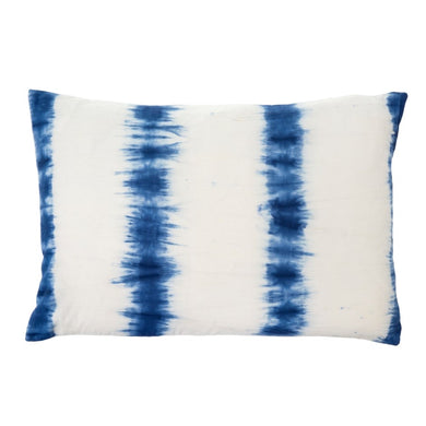 Indigo Shibori Pillow 16x24