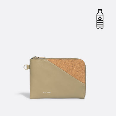 Pixie Mood STACY Wristlet - Sage Cork