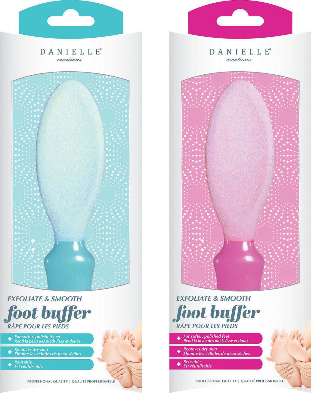 Danielle Exfoliate & Smooth Foot Buffer
