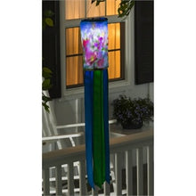 Evergreen - Cheerful Floral Solar Motion Windsock