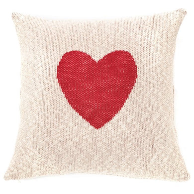 Elsa Heart Cushion 18x18