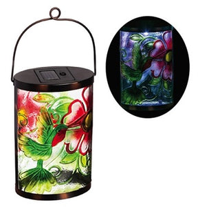 Evergreen - Garden Friends Hummingbird Solar Lantern