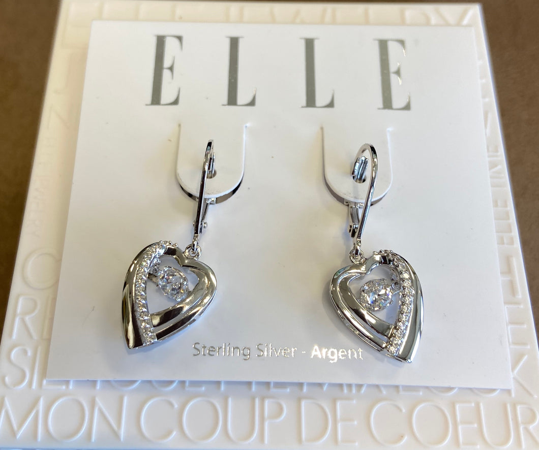 Elle Earrings: Amour Collection
