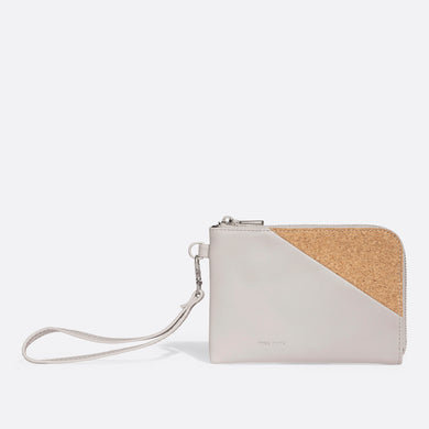 Pixie Mood STACY Wristlet - Cloud Cork