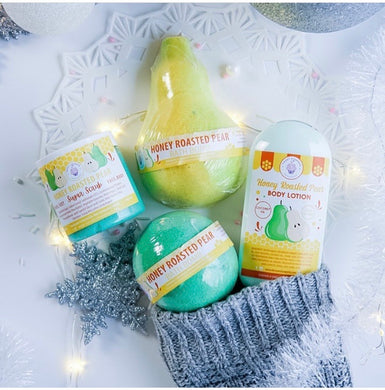 Sweet Soaperie - 3 PC SET Honey Roasted Pear