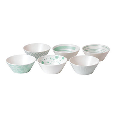 RD- Pacific Mint Bowl, Set of Six