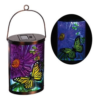 Evergreen - Garden Friends Butterfly Solar Lantern