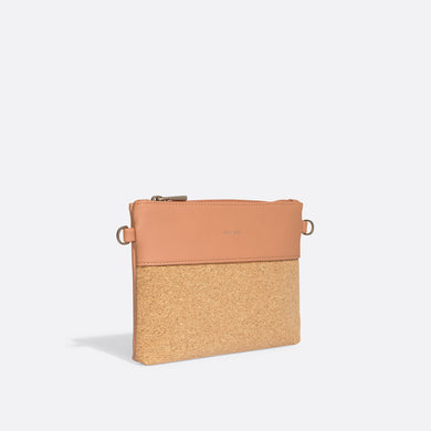Pixie Mood NICOLE Pouch Small - Apricot Cork