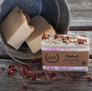 RUSTIK Hand and Body Soap - Patchouli